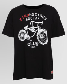 Magents Bikonscious T-Shirt Black
