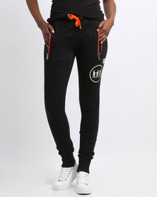 Magents Logo Basic Sweatpants Black