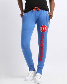 Magents Logo Basic Sweatpants Blue