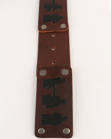 Magents Mens Belt M12 Brown