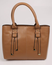 Marie Claire Ladies Tote Bag Brown