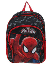 Marvel Spiderman Backpack Large Blue and Red