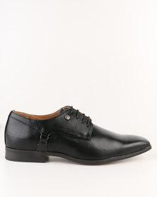 Mazerata Grazie 10 Wax Lace Up Shoes Black