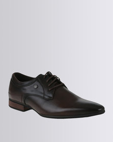 Mazerata Magio 10 Formal Lace Up Shoe Choc