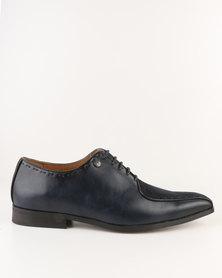 Mazerata Grazie 17 Sue Lace Up Shoes Navy