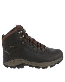 Merrell Vego Mid Leather Waterproof Sneaker Brown