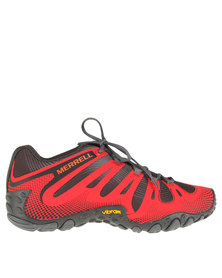 Merrell Chameleon II Flux Outdoor Shoe Red