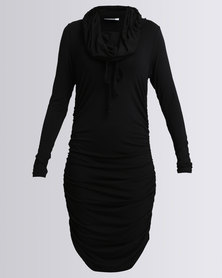 Michelle Ludek Blake Midi Dress Black