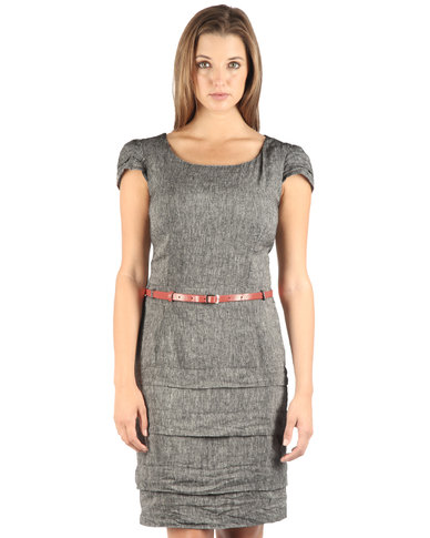 Mint Dress Grey