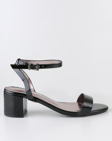 Miss Black Assembly Block Heel Sandal Black