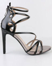 Miss Black River High Heel Sandals Black