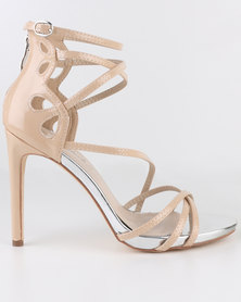 Miss Black River High Heel Sandals Nude