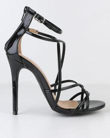 Miss Black Razzmatazz High Heel Sandal Black