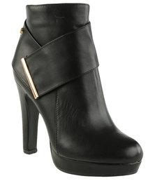 Miss Black Rana 2 Platform Ankle Boot Black