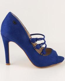 Miss Black Boo High Heels Blue