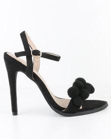 Miss Black Design High Heel Sandal Black