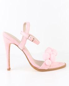 Miss Black Design High Heel Sandal Pink
