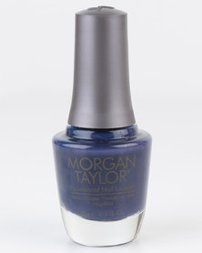 Morgan Taylor Lace 'Em Up - MT Blue