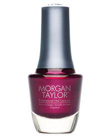 Morgan Taylor MT Professional Nail Lacquer Vixen in a Mask Plum