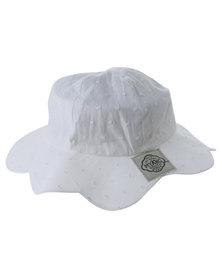 Myang Petal Hat White