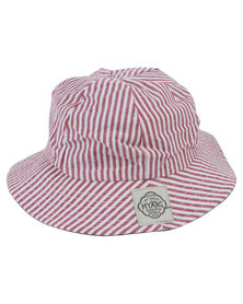 Myang Nautical Striped Denim Hat Multi