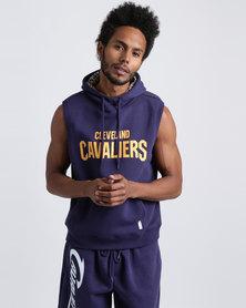 NBA Cavaliers Sleeveless Hoody Blue
