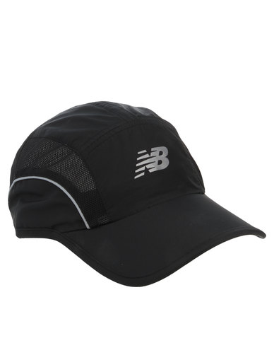 new balance black cap