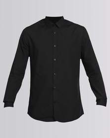 New Look Long Sleeve Shirt Black