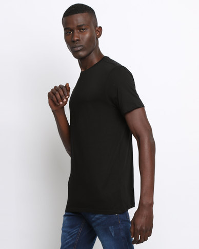New Look Crew Neck T-Shirt Black