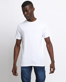 New Look Crew Neck T-Shirt White