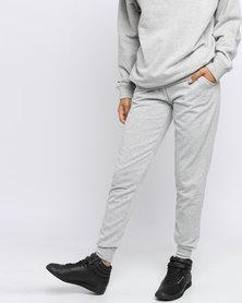 New Look Slim Leg Joggers Grey