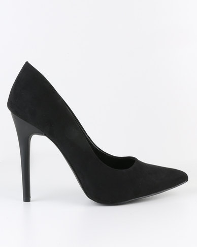 New Look Scrumptious High Pointed Pumps Black