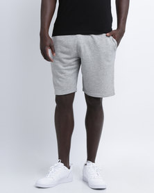 New Look Basic Jersey Shorts Grey