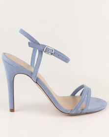 New Look Switch 2 SDT Simple Sandal Heel Blue