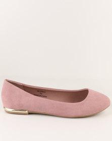 New Look Wide Fit Luna Pump Pink