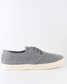 New Look Canvas Plimsoll Grey