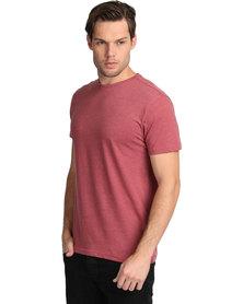 New Look Basic Crew Neck T-Shirt Burnt Orange