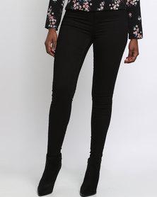 New Look Super Soft Super Skinny Jeans Black