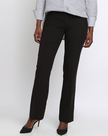 New Look Suit Boot Cut Trousers Black