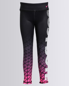 Nike Girls Sports Essential Metric Leggings Black
