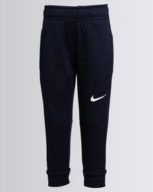 Nike Boys Therma Fleece Trackpants Navy