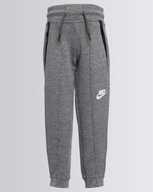 Nike Girls Fleece Trackpants Grey