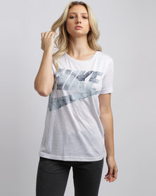 Nike Womens NSW Tee Glacier Grey