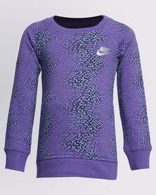 Nike Girls AOP Tunic Purple