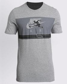 Nike M NSW Tee Air Hybrid Photo Grey