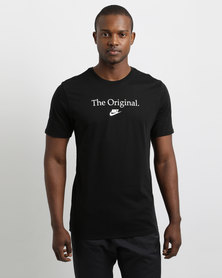 Nike Sportswear Concept Verbiage T-Shirt Black