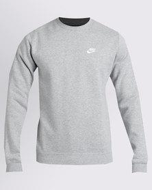 Nike M NSW CRW FLC Club Grey