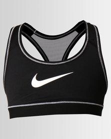 Nike Girls Home & Away Sports Bra Black