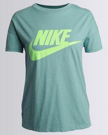 Nike W NSW Signal Tee Logo Green