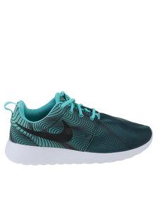 Nike Roshe One Print Washed Teal